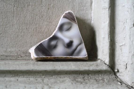 L'Inconnue de la Seine Photo Stone