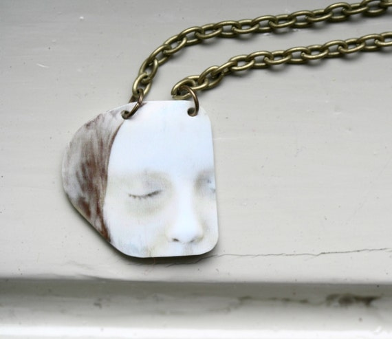 L'Inconnue de la Seine Necklace / Art Jewelry