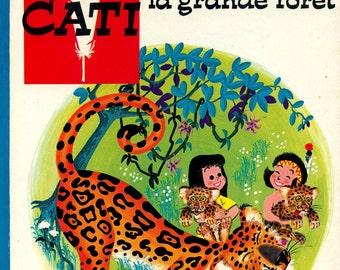 Hopi et Cati  (french vintage book)
