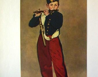 Edouard Manet  french vintage art book  / Skira Le gout de notre temps 1955/ Georges Bataille