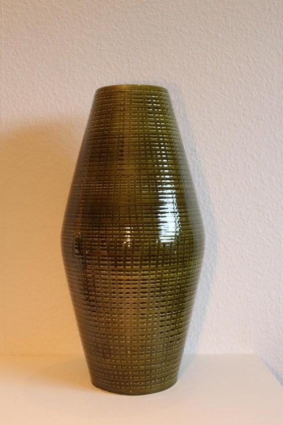 Items Similar To Tall Vintage Danish Modern Ceramic Floor