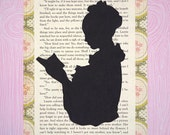 Little Women Silhouette Print