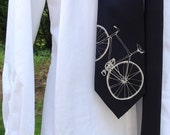 Father's Day, Missionary Men's Tie Bike Tie Bicycle Tie Fathers Day Mens Tie Cool Tie