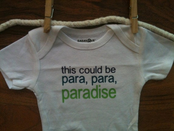 This Could Be Paradise Baby Onesie Bodysuit Coldplay Paradise Song Baby Clothes Boy Girl