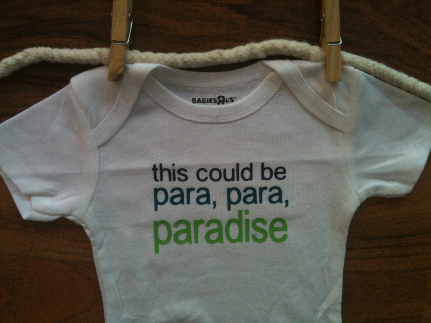 This Could Be Paradise Baby Onesie Bodysuit Coldplay Paradise