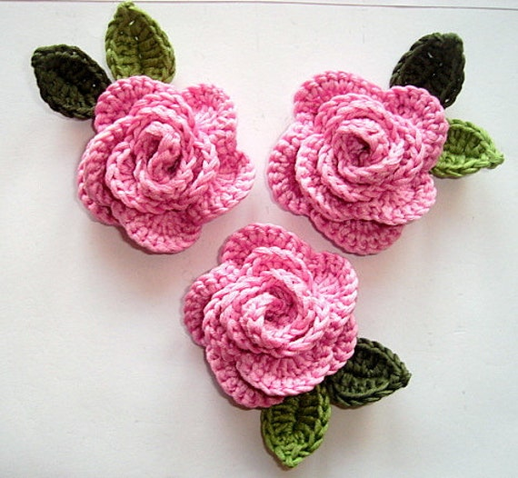 Crocheting Roses : Unavailable Listing on Etsy