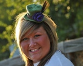 mini mad hatter top hat headband