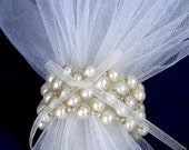 Wedding Napkin Rings - Creme - Pearls Napkin Rings - Beaded Napkin Rings - Table decoration   - Set of 12