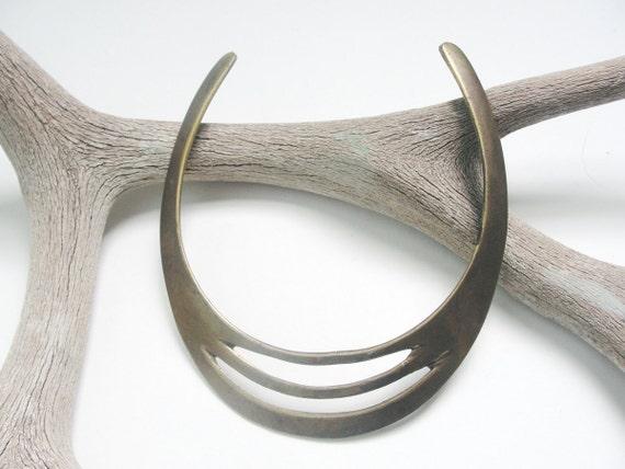 Queen Tribal Brass Necklace