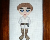 Luke Skywalker Cross Stitch Pattern