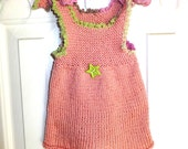 Baby Hand knitted Summer Dress