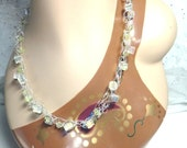 Sunlight Crochet Necklace