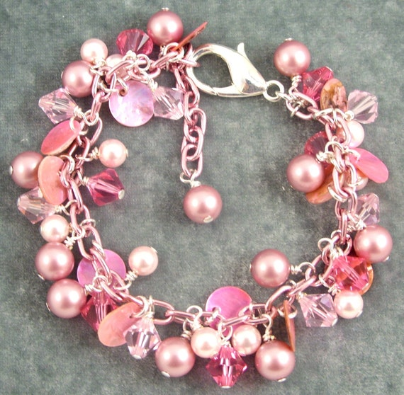 RESERVED for jenchan1392 Pink Wonderland Bracelet