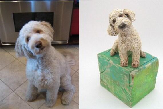 Custom Pet Sculpture ~ RESERVED FOR JULIE G.