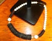 Vintage Chunky Urban Aboriginal Disc and Round Beads.