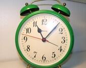 """Vintage MOD Oversize Alarm Clock   West German """"Blessing"""""""