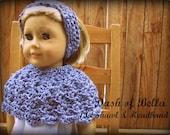 American Girl Shawl Poncho Pattern