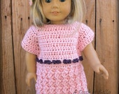 American Girl Doll Party Dress Crochet Pattern
