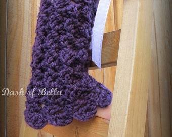 Thigh High Leg Warmers Crochet Pattern | Red Heart