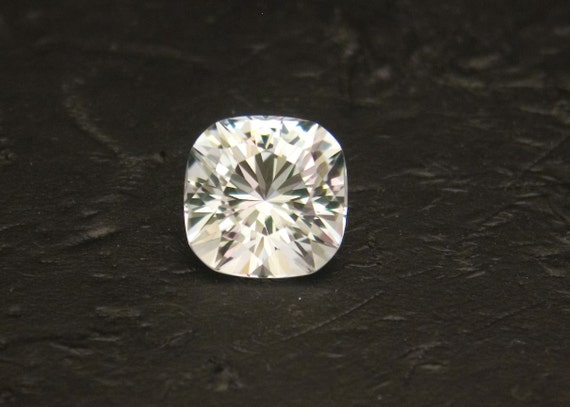 RESERVED for gtaylor/amellish - Silver Topaz -- 8.34 Carat Brilliant Cushion