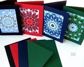 Kaleidoscope Greeting Cards (set of 4)