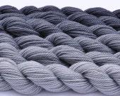 Cool Grayscale Gradated Yarn Set