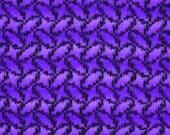 Ovals Stitch Chart I