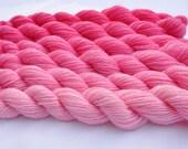 Gradient Yarn Pale Rose Color Shift