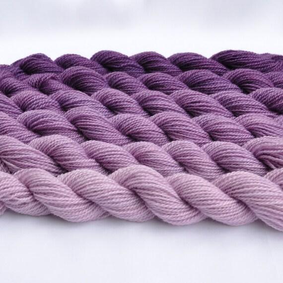 Aubergine Gradated Yarn Set