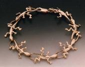 14k Lizard Bracelet