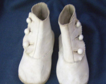 Antique Button Up Boots for  Child