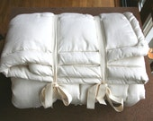 Organic Wool Comforter for Toddlers - Made to Order
