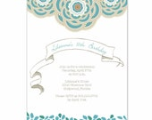 Printable Party Collection - Vintage Flowers