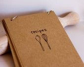 Hand Drawn Blank Recipe Cards