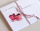 Mmmm cupcakes - Blank card