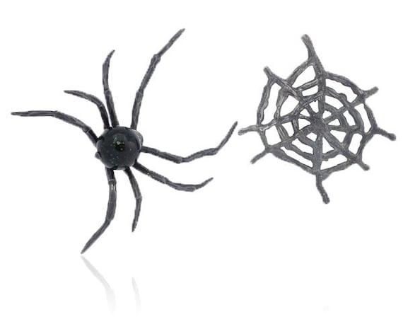50% OFF!- Black Widow silver Earrings