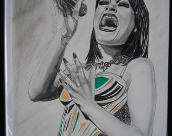 Jessie J Do it like a dude original artwork