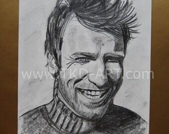 Ewan McGregor drawing