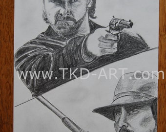 The 3:10 to Yuma Russell Crowe and Christian Bale