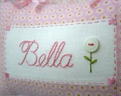 Personalised Baby's and Girl's Name Cushion