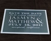 Save the Date (charming) deposit