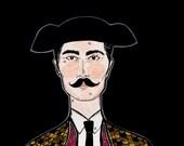 Matador -- Original Illustration