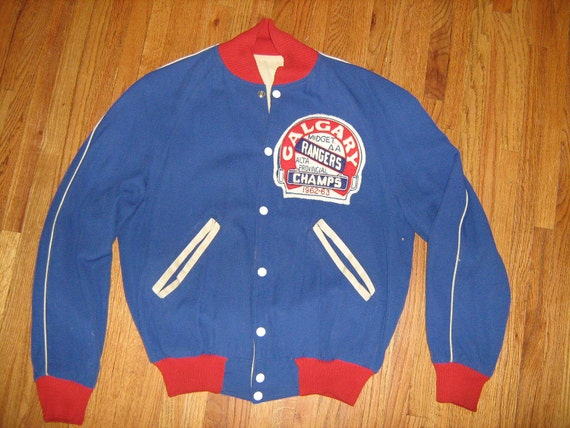 1950's 60's Mens Reversable Baseball Jacket Team Varsity Coat Collectible Rockabilly