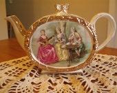 Victorian style antique tea pot