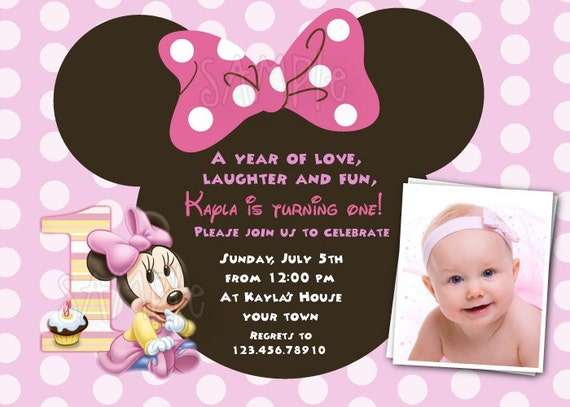 Minnie Mouse Baby Shower Invitations Templates was nice invitation ideas