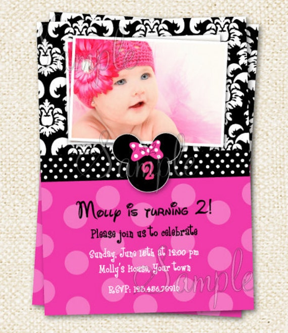 mouse birthday invitations, invitation samples