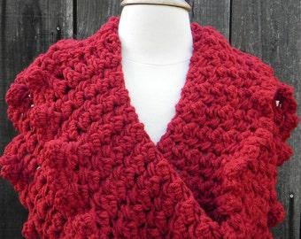 Crochet pattern, infinity scarf pattern, cowl pattern, crochet scarf pattern, DIY crochet pattern, DIY pattern