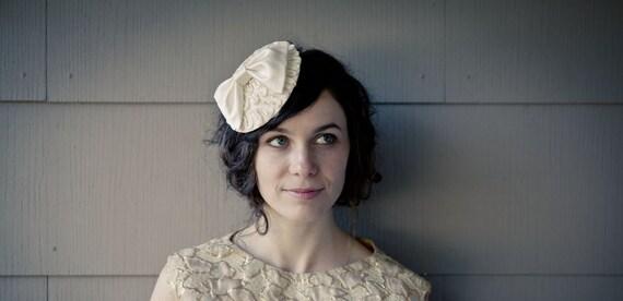 Vintage Silk Bow Hat