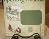 Opening Presents Christmas Scrapbook Layout Album
