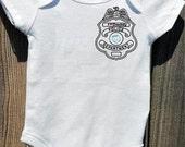 Just Like Daddy - Police Baby - I Heart My Hero Onesie